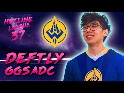 Deftly demonstrates, who is good in LCS, ADCs are slow  Hotline League 37