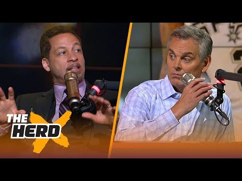 Chris Broussard on the chances Kawhi lands in LA, how the Lakers will handle Lonzo | NBA | THE HERD