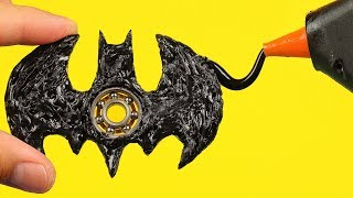 How To Make A Batman Fidget Spinner
