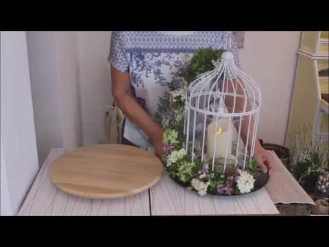 herbstdeko der vogelk fig b rbel s wohn deko ideen youtube. Black Bedroom Furniture Sets. Home Design Ideas