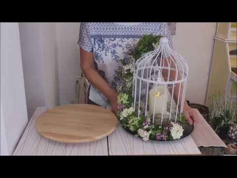 "Herbstdeko "" Der Vogelkäfig "" - Bärbel´s Wohn & Deko Ideen"