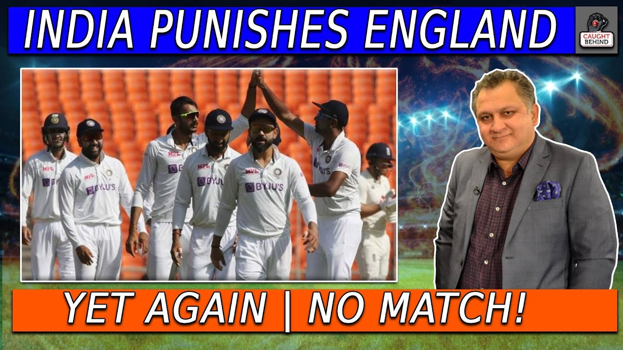 India punishes England yet again | No match! | Caught Behind