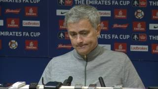 Jose Mourinho Prematch Press Conference V Hull City - EFL Cup Semi-fnal