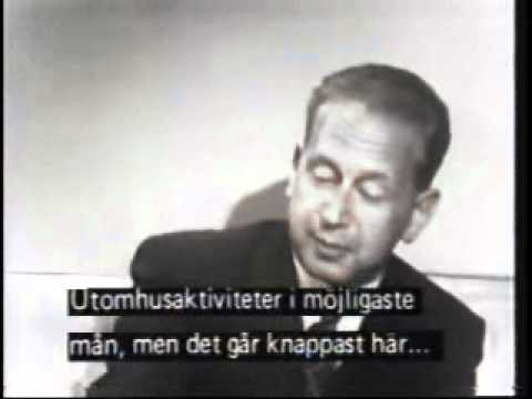 Dag Hammarskjöld interviewed by Alistair Cooke (1955)