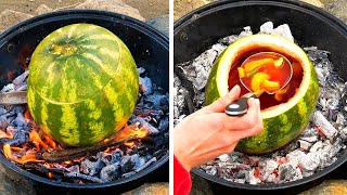 UNUSUAL WAYS TO COOK OUTDOORS  5-Minute Recipes to Make Your Camping Experience Unforgettable!