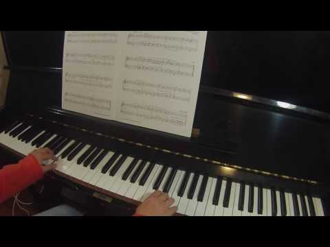 Rigaudon by Georg Philipp Telemann Trinity College London piano grade 2 TCL 2018-2020