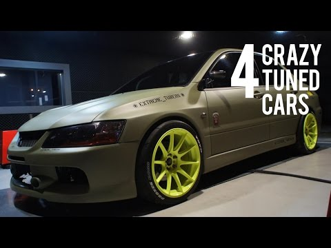4 Crazy Tuned Cars | Crazy Accelerations & PURE SOUNDS!