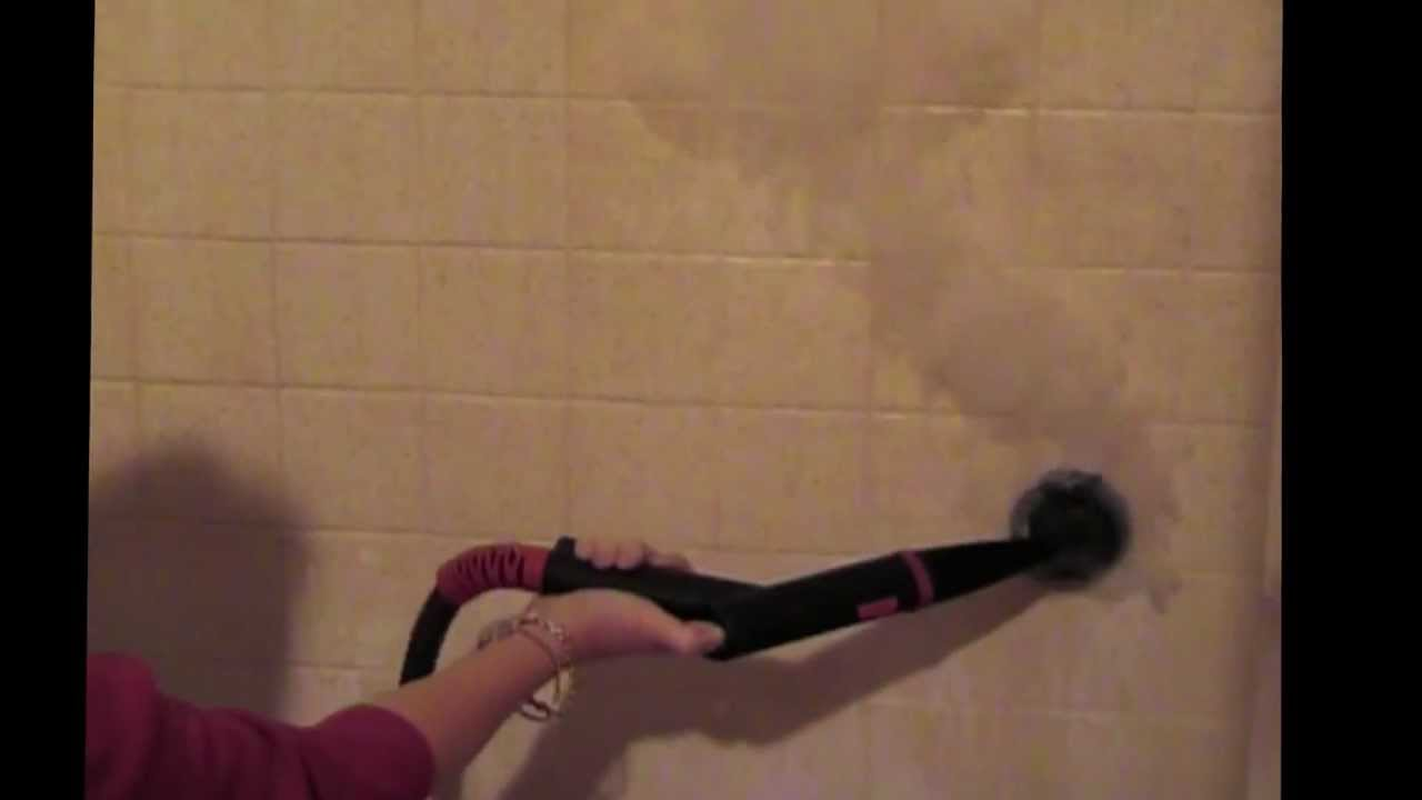 Shower Soap Scum Removal Vapor Clean Youtube