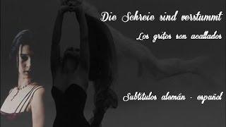 Lacrimosa - Die Schreie sind verstummt - Subtitulos en español
