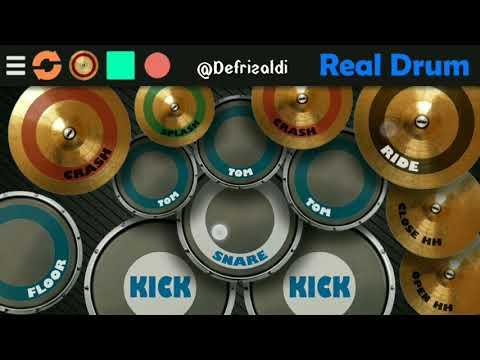 Astor Kid - Rindu Terpendam Cover (Real Drum)