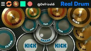 Astor Kid Rindu Terpendam Cover Real drum