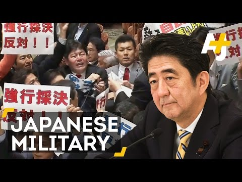 Japan Could Expand Military Powers, Lawmakers Are Trying To Stop It