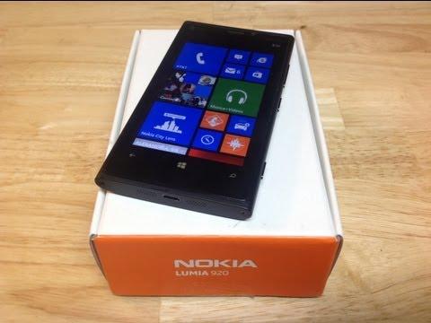 Nokia Lumia 920 Análisis y revisado -- Full review