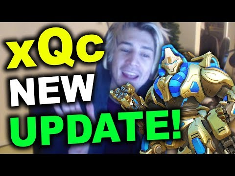 xQc checks out the NEW COSMETICS UPDATE (Opens 50 lootboxes and buys the new skins)