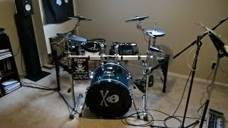 """Roland TD-50 Entertaining Unbox & """"FrankenVDrums"""" Build with Candid First Impressions"""