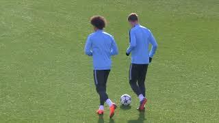 Leroy Sane back in training ahead of Man City's CL return