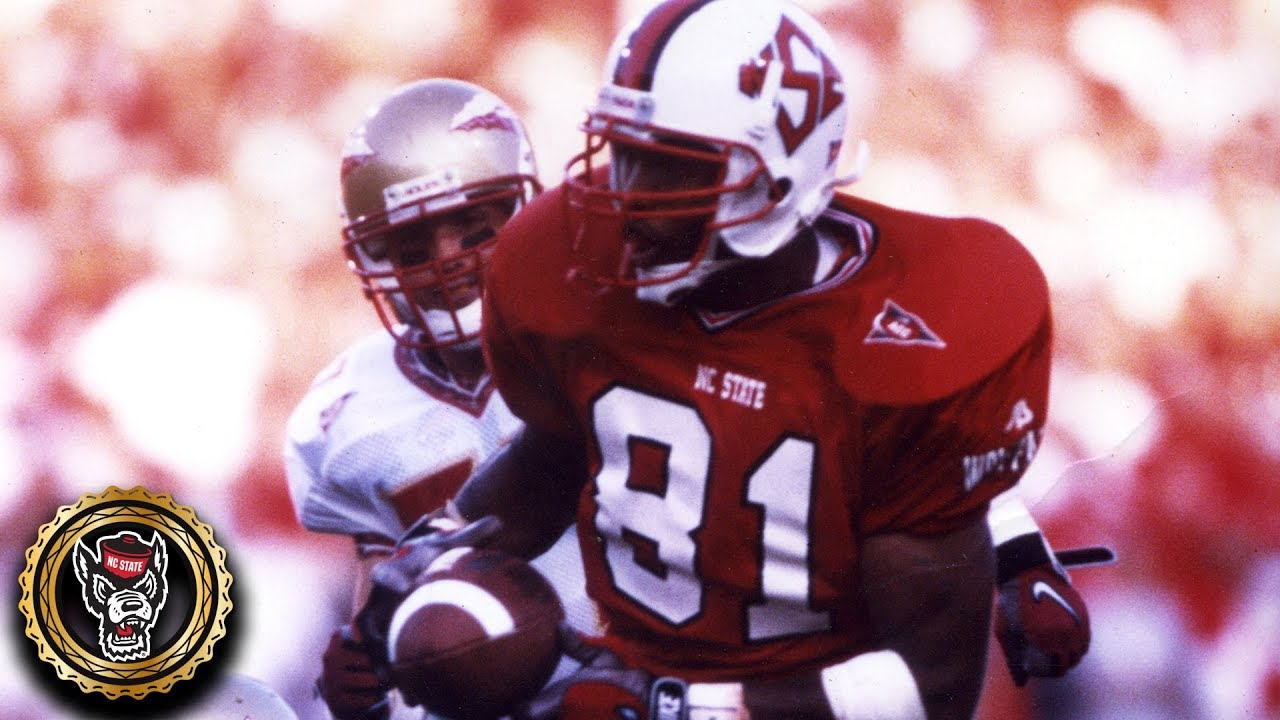 low priced 4fbf2 37e3b Torry Holt NC State Highlights | ACC Icon