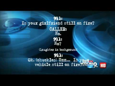 No laughing matter: 911 dispatcher laughs as man reports girlfriend on fire