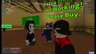 Bendy and the ink machine Roleplay Roblox(did'tn go so well)