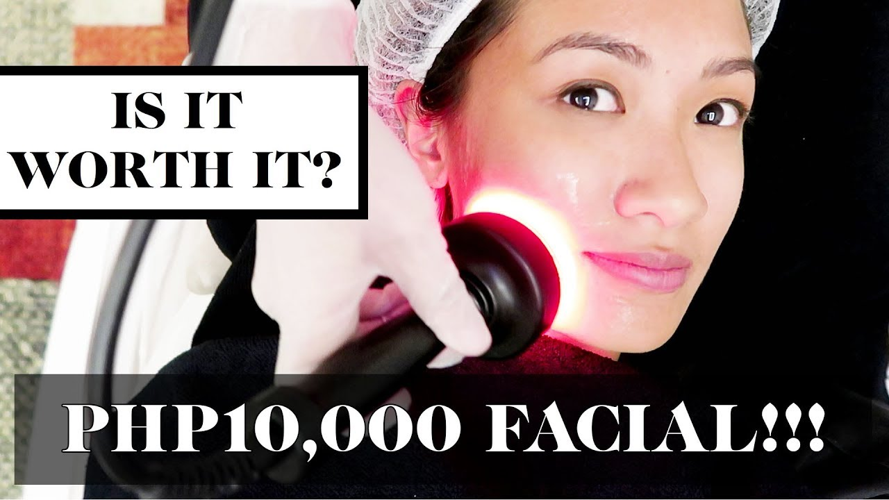 Trying The Most Expensive Facial In The Philippines (P10,000 per session!)  | Laureen Uy