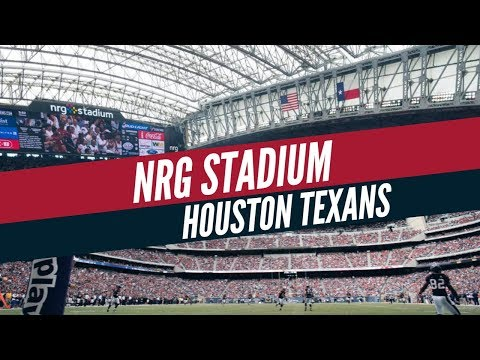 NRG, de Houston, un estadio con techo retráctil y refrigeración central