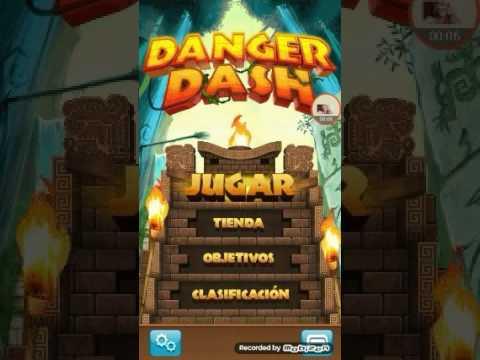 El Juego De Danger Dash👣💰😂