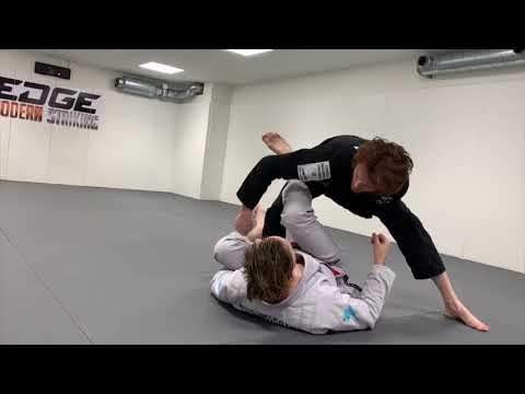 The One Arm Leg Drag (Most Effective Set Up)