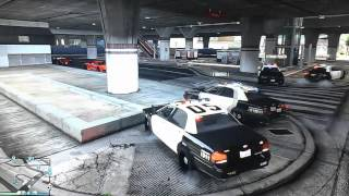 GTA 5 Online - Cops Role Play Series Episode #1 - High Speed Chase