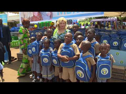 Education : Children of Africa lance sa distribution des kits scolaires