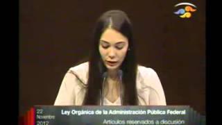 Intervención en Tribuna de la Diputada María Fernanda Romero Lozano