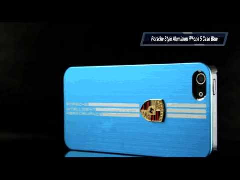 Porsche Style Aluminum iPhone 5 Case