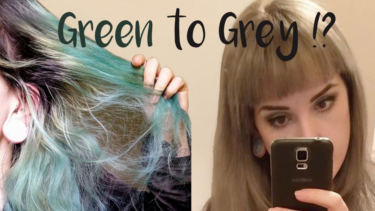 Dying hair from green to silvergrey schwarzkopf igora royal dying hair from green to silvergrey schwarzkopf igora royal youtube nvjuhfo Gallery