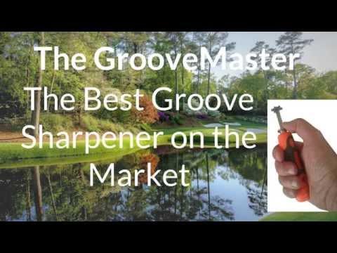 GrooveMaster Adjustable Golf Club Groove Sharpener