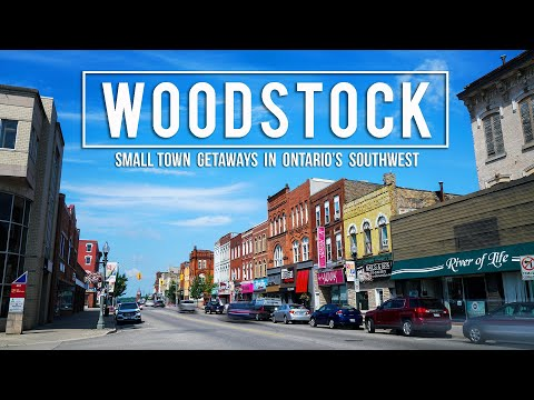 WEEKEND ITINERARY In WOODSTOCK, ONTARIO!