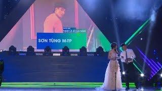 Sơn Tùng M-TP Đoạt Giải Làn Sóng Xanh Next Step 2019   Son Tung M-TP won the Green Wave 2019