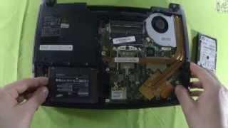 Ноутбук MSI GE40 2OC (273RU) - Dragon eyes (распаковка, замена HDD и памяти)