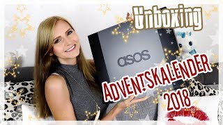 ASOS Adventskalender 2018 - UNBOXING - Top oder Flop?