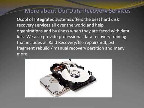 Data recovery services in riyadh