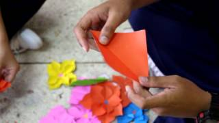 Repeat youtube video สอนตัดดอกไม้ By ตั้ม