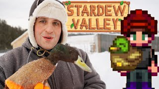 Stardew Valley vs Real Farming