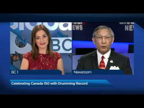 Global News BC 1 - Canada 150 Atlantic to Pacific Celebration
