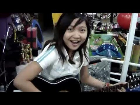 Charice on Guitar — Torete