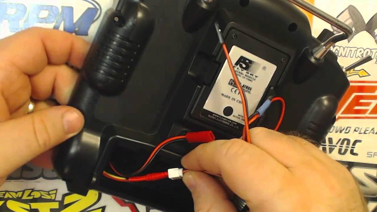 Flysky FS-TH9X (Turnigy 9X) LVC Alarm mod