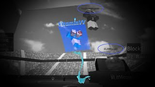 Montage #4 - Roblox Old Legacy Football *Funny* (Admin changes the gravity...)