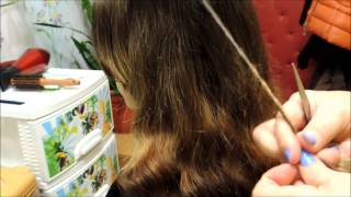 Чистка секущихся волос.(Сейчас мы буквально за минуту научимся, как правильно и без проблем очистить волосы от секущихся концов., 2014-12-09T03:14:05.000Z)
