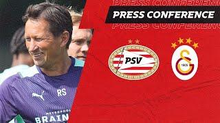 LIVE | PRE-MATCH PRESS CONFERENCE PSV - GALATASARAY 🎙