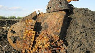 Раскопки в полях Второй Мировой Войны Фильм 15/Excavation in fields of World War II the Film 15