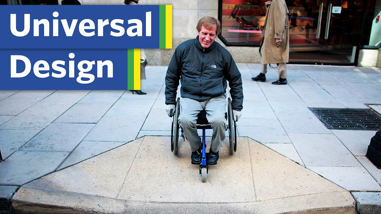 How to design streets for everyone (Universal Design)