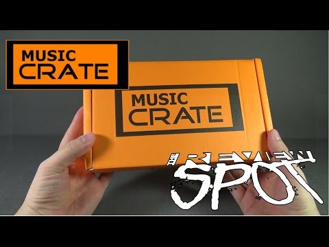 Subscription Spot - Music Crate August 2016 Subscription Box UNBOXING!