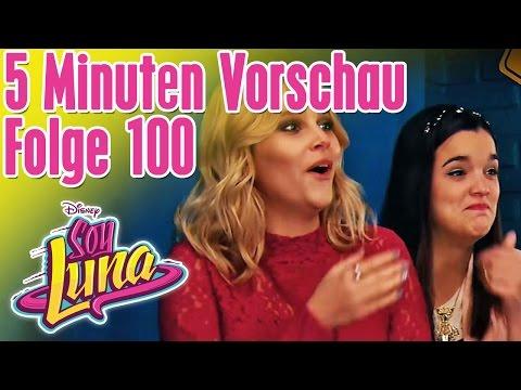 5 Minuten Vorschau - SOY LUNA Folge 100 || Disney Channel